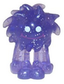 Flumpy figure glitter purple