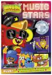 Penguin Music Stars Poster