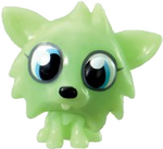 White Fang figure scream green