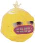Black Jack figure glitter yellow