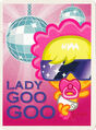 Moshi Monsters Postcard - Lady Goo Goo