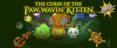 Curse of the Paw Wavin Kitten