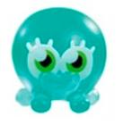 Bubbly egg hunt figure translucent