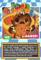 Collector card food factory hansel