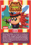 Collector card magnificent moshi circus shed