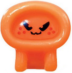 Ecto figure pumpkin orange