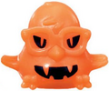 DJ Quack figure pumpkin orange