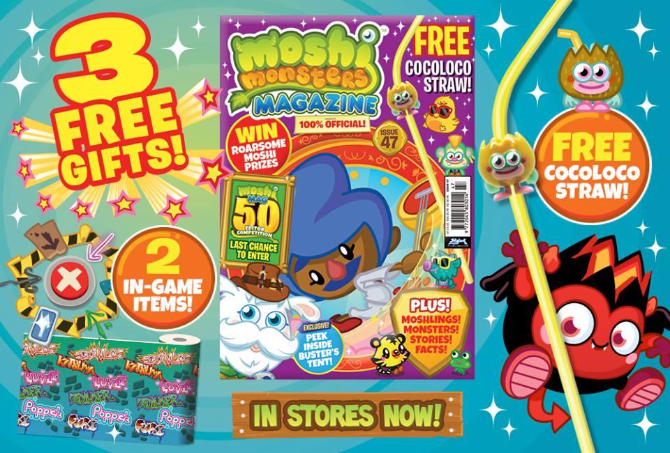 Moshi Monsters Magazine: Issue 47 | Moshi Monsters Wiki