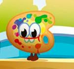 Splatter Egg Hunt Art