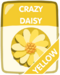 Yellow Crazy Daisy