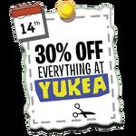 Yukea 30%