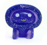 Ecto figure glitter purple