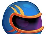 Moshi Karts Blue Blaze