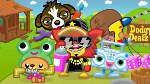 """Moshi Monsters - Blingo """"Diggin' Ya Lingo"""" - Official Music Video - Use Code 'BLING' For Free ROX!"""