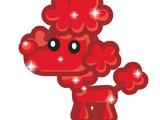 Red Glittery Fifi