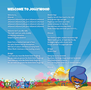 Moshi movie soundtrack booklet Page 13
