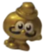 Scrumpy figure micro gold