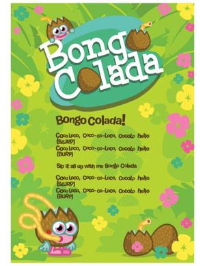 Daily Growl PDF coco loco lyrics poster-1