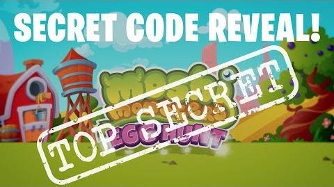 Moshi Monsters Egg Hunt Code Reveal - Burnie the Fiery Frazzledragon Moshi Monsters Egg Hunt