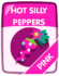 Pink Hot Silly Peppers