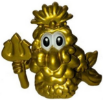 Uncle Scallops figure gold