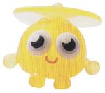 Wurley figure glitter yellow