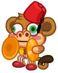 Antique Isle Monkey Cymbals