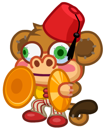 Image - Antique Isle Monkey Cymbals.png | Moshi Monsters Wiki ...