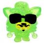 Blingo figure glitter green