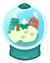 Furi Snow Globe