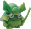 General Fuzuki figure marble green