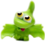 Gurgle figure goo green
