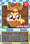 Collector card food factory cutie pie