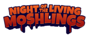 Night of the living moshlings logo