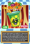 Collector card food factory fizzy