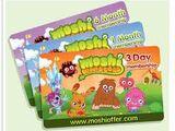 Moshi Monsters Membership Cards