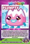 Collector card s11 plumpty