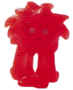 Flumpy figure glitter orange