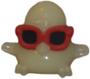 DJ Quack figure ghost white
