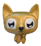 Lady Meowford figure gold