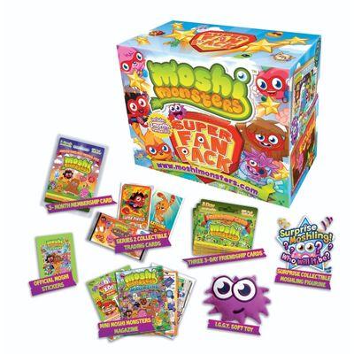 Moshi Monsters Super Fan Pack