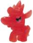 Priscilla figure glitter orange