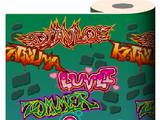 Monster Graffiti Wallpaper