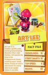 Top trump orange Art Lee