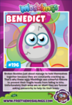 Collector card s11 benedict