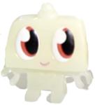 Nipper figure ghost white