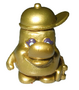 Lips figure gold