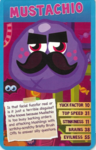 Top trump blue Mustachio