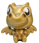 Burnie figure gold