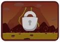 Moshling Boshling level volcano locked